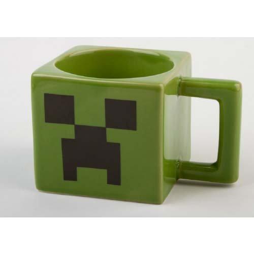 Minecraft Creeper Face Mug / 마이 구라후토   구리파  페이스 머그컵 [병행수입]-