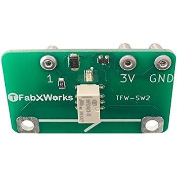 micro:bit(マイクロビット)用プログラム制御スイッチ(電磁石版)TFW-SW2