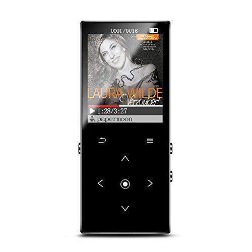 『KAYOWINE 多機能日本語マニュアルを対応するブルートゥース対応8GBのmp3プレーヤーHIFI超高品質のデジタルオーディオプレーヤーのマイクロSDカード』のトップ画像