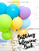 The Birthday Interview Book