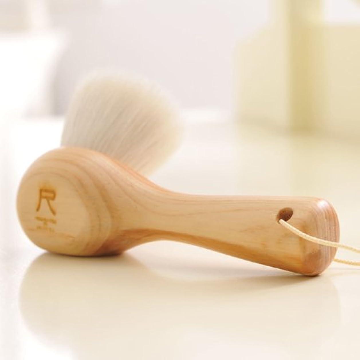 メディア露区別する尺 洗顔ブラシ(白箱版)