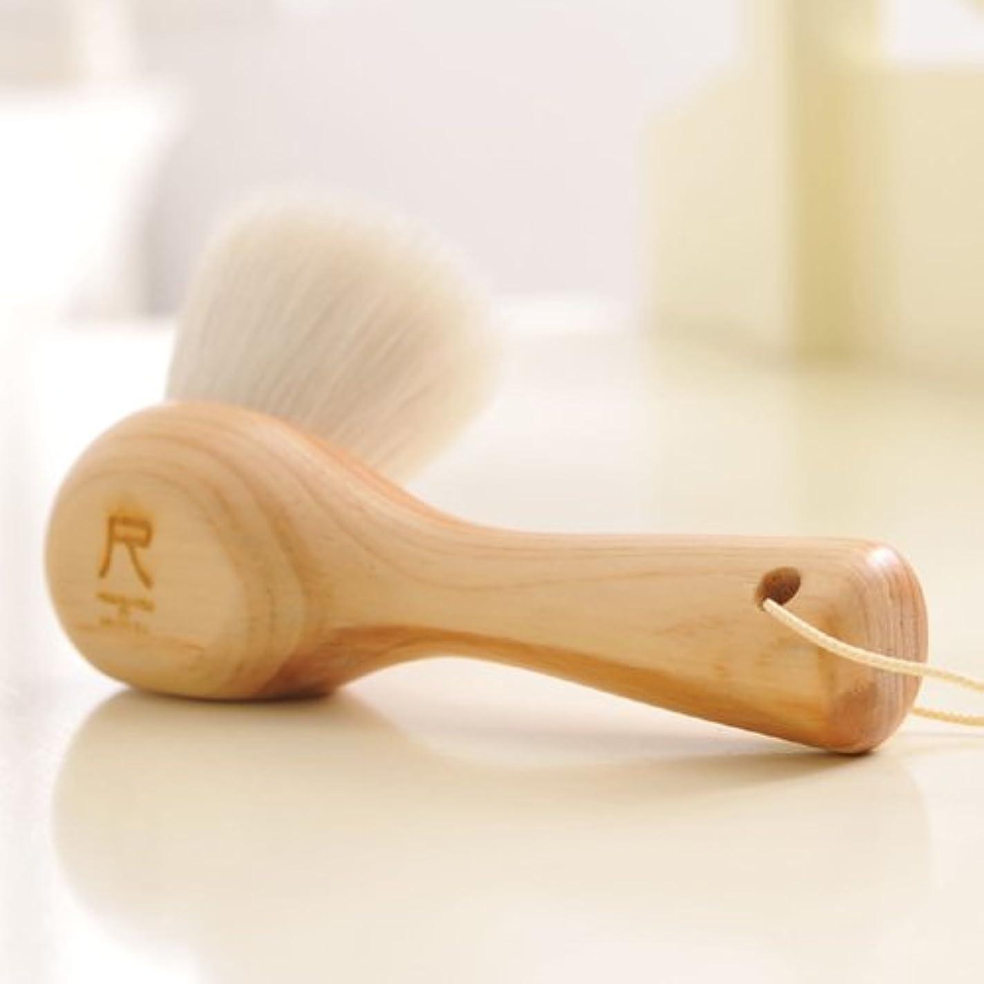 大腿滑る尺 洗顔ブラシ(白箱版)