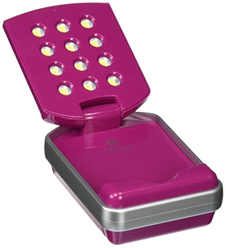 わずかな吸収剤ボーカルOttLite 49021C LED Mini Flip Lite, Pink Color [並行輸入品]