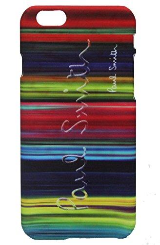 Paul Smith ポール・スミス iPhone 6 4.7インチ ハードケース アイフォン 専用 ケース ハードカバー ロゴ LOGO:ビビッドな虹柄