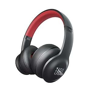 JBL EVEREST ELITE 300 Bluetoothヘッドホン 密閉型/オンイヤー/ノイズキャンセリング ブラック/レッド V300NXTREDGP 【国内正規品】