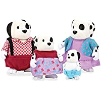 Li'l Woodzeez Woof Winkles Dog Family Set with Storybook