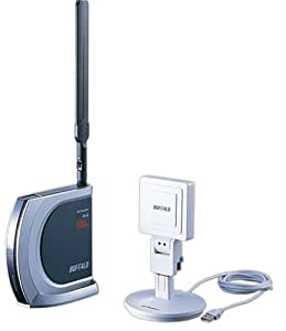 BUFFALO WHR-HP-AMPG/UHP ハイパワー無線LANルータ+アダプタ