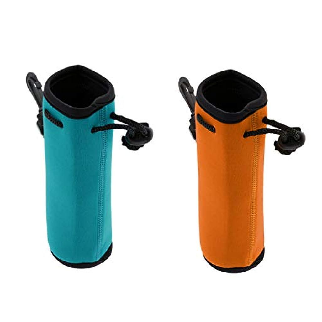 差し引く贅沢な膜Perfeclan 2ピース 500ミリリットル ネオプレーン 水 ドリンク ボトル クーラー キャリアカバー スリーブ