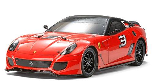 1/10 電動RCカーシリーズ No.510 RCC フェラーリ 599XX (TT-01シャーシ TYPE-E) 58510