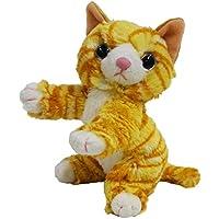 いっしょがいいね ビーンズぬいぐるみ(2S) 高さ15cm トラ猫