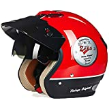 Fashion Simple Red Black ABS Adult Bicycle Helmet Riding Electric Car Motorcycle Helmet Bicycle Mountain Bike Helmet Outdoor Riding Equipment Pretty (Size : XXL)