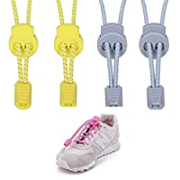 Elastic No Tie Shoe Laces弾性Running Shoelaces複数色メンズの女性と子供 00S0AA065A