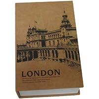 辞書型金庫 金庫に見えない 本型金庫 ロンドン版(小) インテリアボールペンおまけ付き! KLB-1