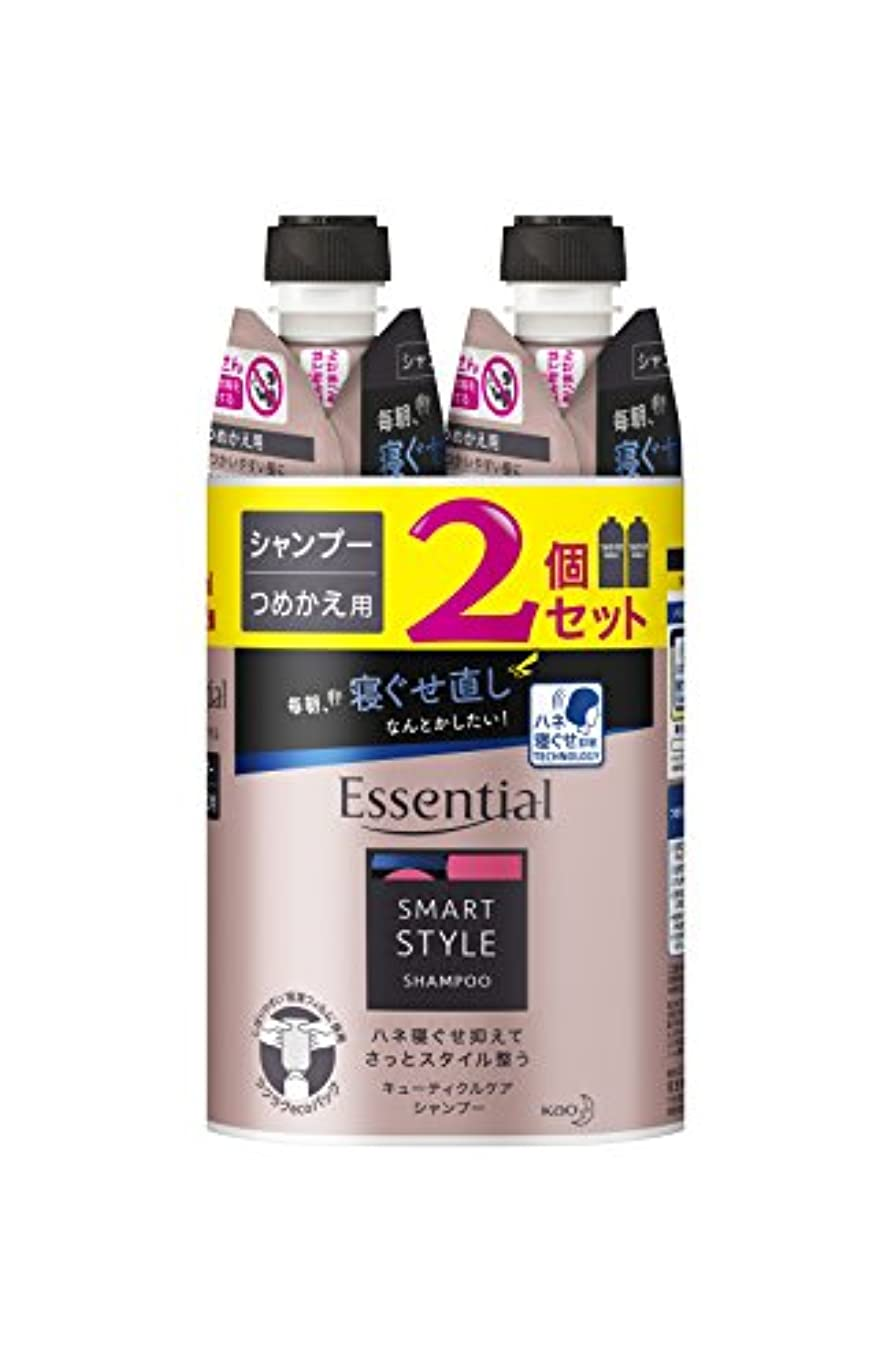 文化適応的エゴイズム【まとめ買い】 エッセンシャル スマートスタイル シャンプー つめかえ用 340ml×2個