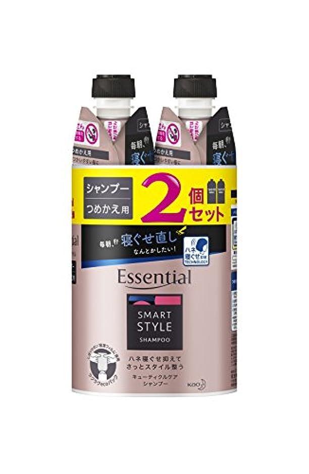 のりで割り当て【まとめ買い】 エッセンシャル スマートスタイル シャンプー つめかえ用 340ml×2個