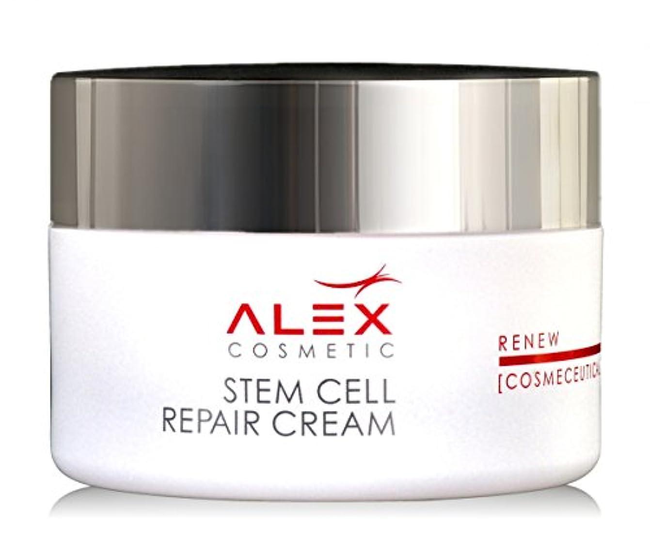 拒絶瞬時に謝罪【Alex Cosmetic 正規代理店】アレックスコスメティック Stem Cell Repair クリーム 50ml