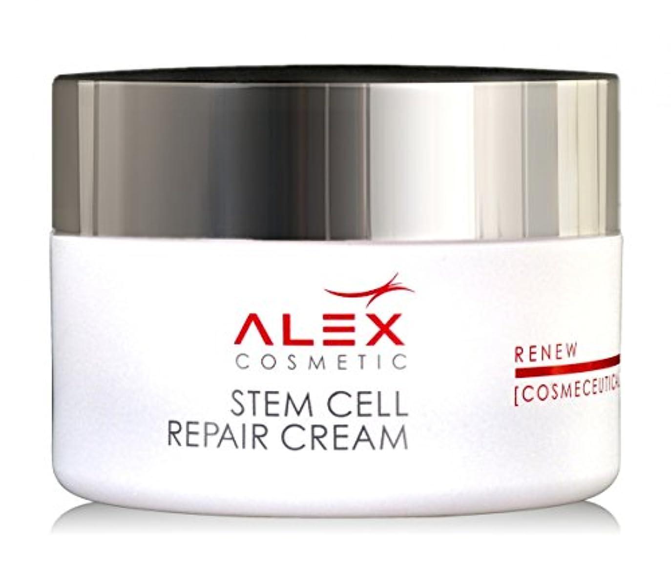 二十学校教育バルク【Alex Cosmetic 正規代理店】アレックスコスメティック Stem Cell Repair クリーム 50ml