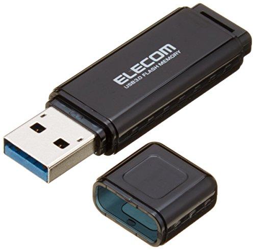 エレコム バリュータイプUSB3.0メモリ MF-HSU3A64GBK