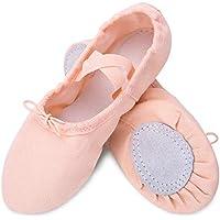 Ballet Slipper Shoes Split-Sole Dance Flat for Girls (Toddler/Little Kid/Big Kid) US 13.5M Little Kid-19cm