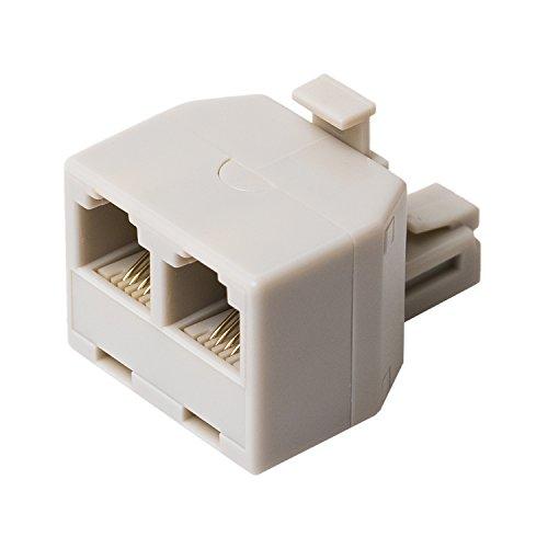 ミヨシ MCO 分配アダプタ 6極4芯 回線用 白 DA-42/WH DA-42/WH