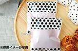 【Fuwari】 小袋 袋 バレンタイン 義理チョコ 友チョコ ホワイトデー お返し お菓子 チョコレート クッキー キャンディー ラッピング  100枚 包装袋 小分け プレゼント m2 (②)