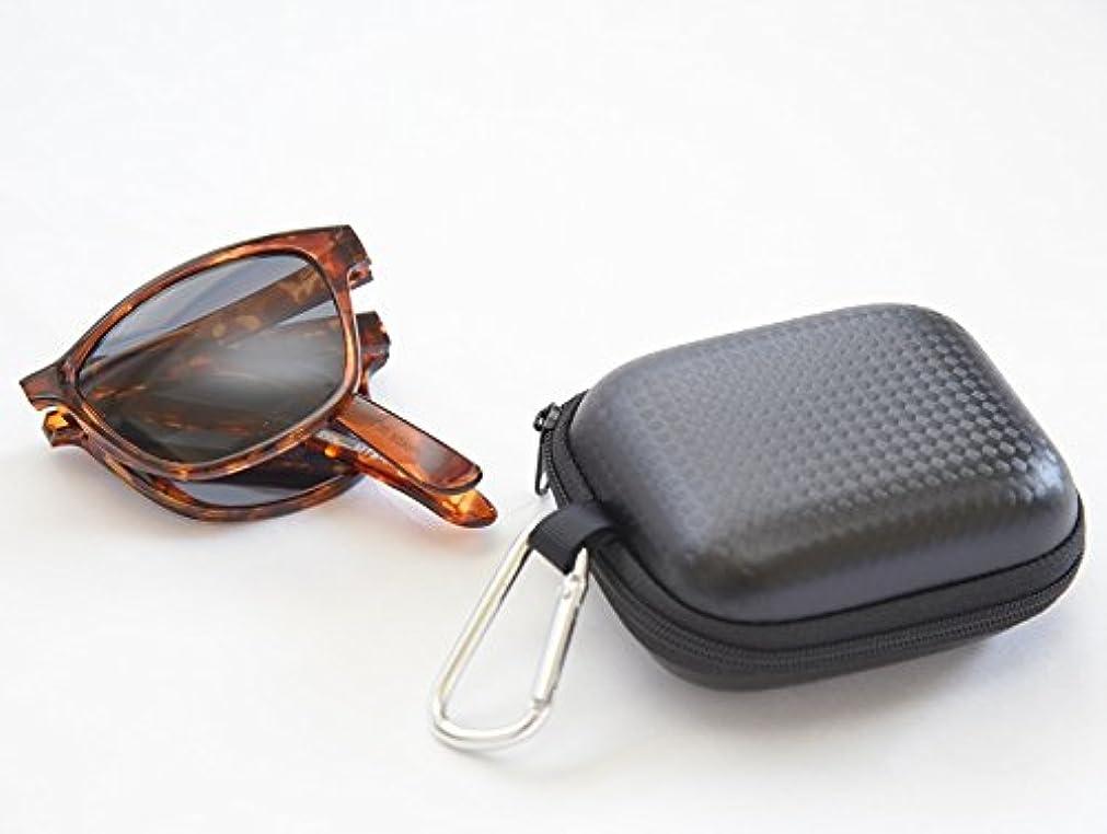 賠償遠征帆偏光 折り畳み スポーツサングラス 軽量 コンパクト montgna MTS6002-2 ブラウンデミ 専用ケース付き