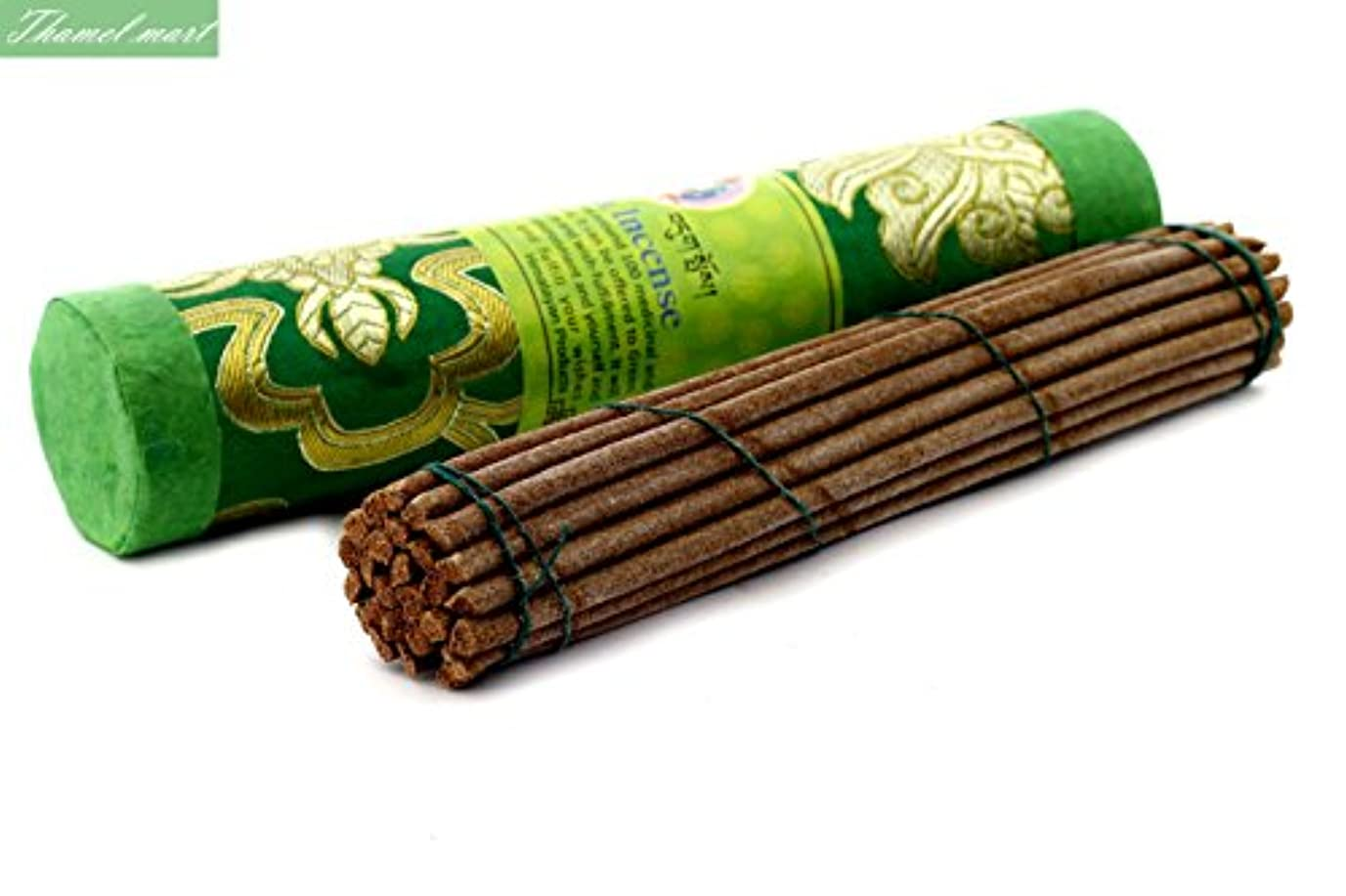 国内のの間にシリンダーGreen Tara Tibetan Incense Sticks – Spiritual & Medicinal Relaxation Potpourrisより – 効果的& Scented Oils