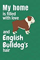 My home is filled with love and English Bulldog's hair: For English Bulldog fans