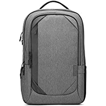 "Lenovo 17"" Laptop Urban Backpack B730, Fits Up to 17.3-Inch Laptops, Water-Repellent Material, Padded PC Compartment, Anti-Theft Pocket, On-The-Go Charging, GX40X54263, Charcoal Grey"