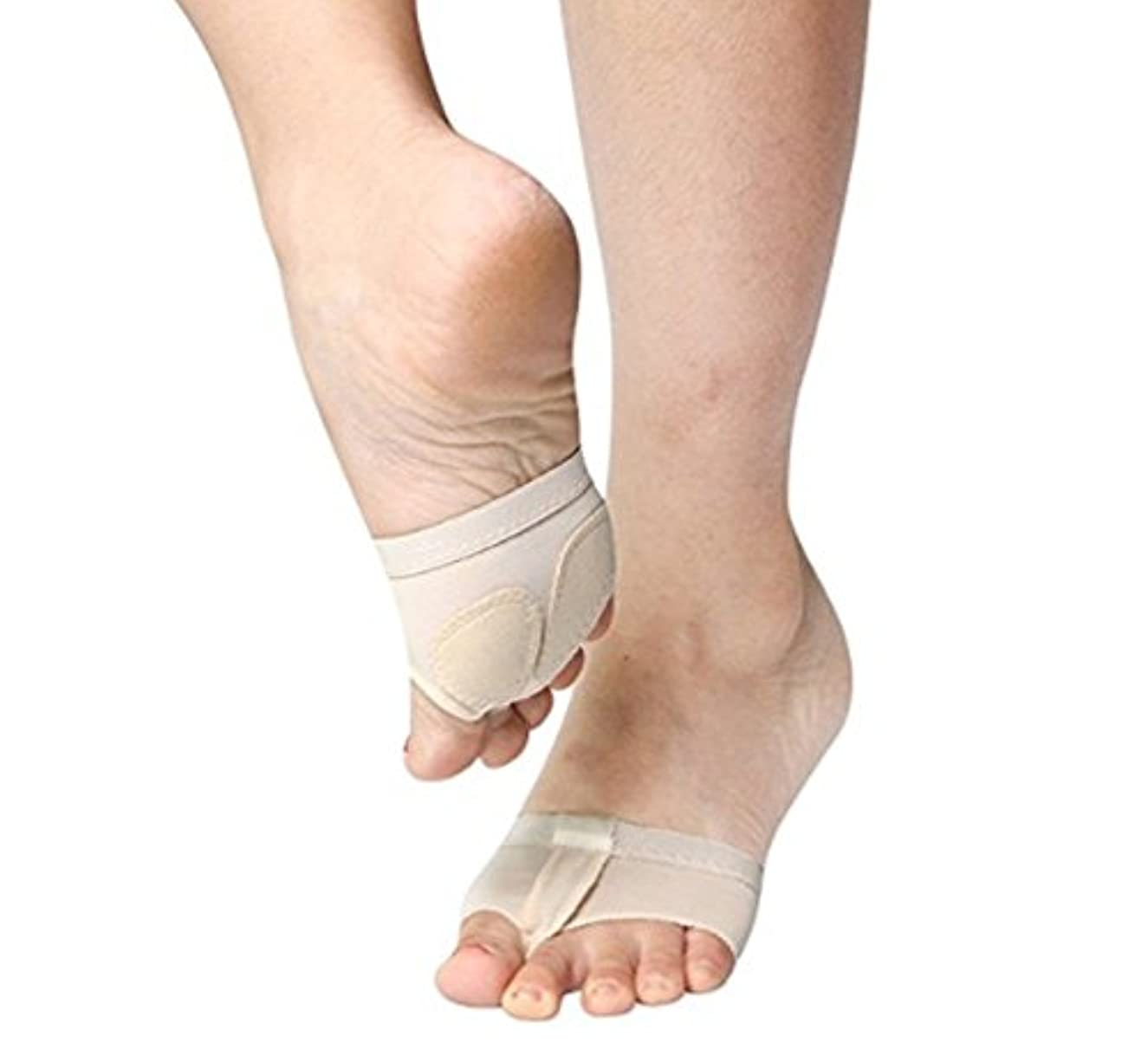 確立しますに変わる入手しますDragon Honor 足裏保護パッド 底マメ 足裏サポーター 種子骨保護サポーター 衝撃吸収 痛み和らげ 足底筋膜炎 立ち仕事 ダンサーに対応 疲れ軽減 左右セット (M)