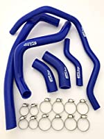 ヤマハ V-MAX1200 シリコン ラジエーター ホース 青 ラジエータ VMX1200 VMAX1200
