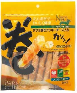 ドッグスターNEO ササミ巻きクッキーチーズ入り 8本入...