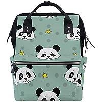 ママバッグ マザーズバッグ リュックサック ハンドバッグ 旅行用 可愛いパンダ 星星 ファション