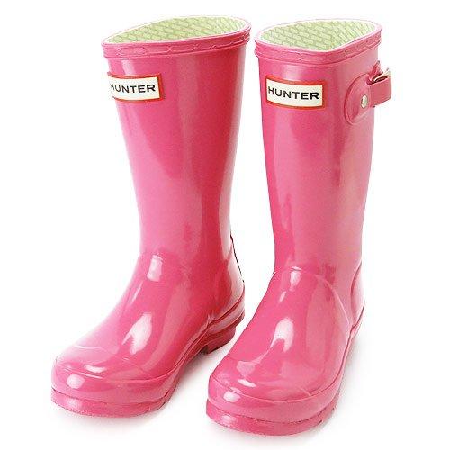 RoomClip商品情報 - (ハンター) HUNTER レインブーツ W23991 UK12(18cm) FUCHSIA/フクシア KIDS/子供用 HUNTER 長靴/ラバーブーツ ORIGINAL KIDS GLOSS/オリジナルキッズグロス [並行輸入品]