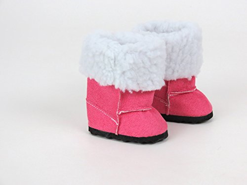 Pink Fur Boots for Dolls, Read...