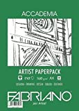 Fabriano Accademia Artist Drawing Paper Pack - 160gsm, A3, 75 sheets by Fabriano [並行輸入品]