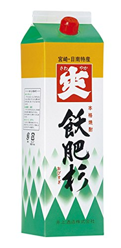 井上酒造  20°爽飫肥杉 芋 パック 1800ml