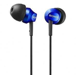 SONY 密閉型インナーイヤーレシーバー EX50LP ブルー MDR-EX50LP/L