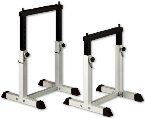 IROTEC セイフティーラックワイドタイプ/ベンチプレス スクワット ディップス フィットネスマシン付属品
