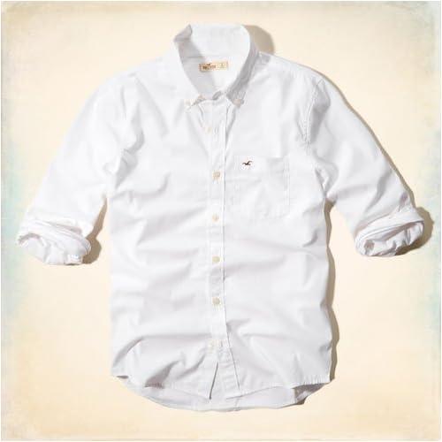 ホリスター HOLLISTER 正規品 メンズ 長袖シャツ Hermosa Shirt 325-259-1105-001 L 並行輸入品
