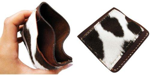 希少なハラコをふんだんに使って仕上げたオールレザーのお財布!【ハラコマネー&カードケース】アメリカン雑貨アメリカ雑貨