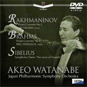 ラフマニノフ : ピアノ協奏曲 第2番 / ブラームス:ピアノ協奏曲 第1番 / シベリウス:交響詩「トゥオネラの白鳥」[DVD]
