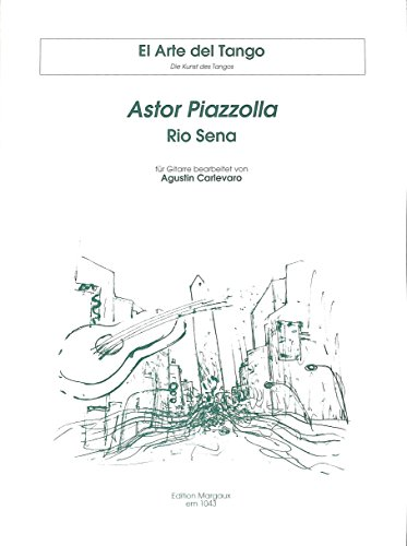 Rio sena by Astor Piazzolla (for guitar)