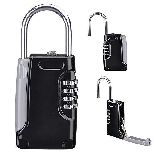 SIBLING 鍵収納ボックス BOX キーボックス 南京錠 ダイヤル式 4桁 鍵の保管 受け渡し ...