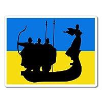 """ウクライナKyiv車ビニールステッカー–選択サイズ (B) Regular: 5"""" ST_1046_5"""""""