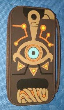 北米限定 Nintendo Switch シーカーストーン型ケース ゼルダの伝説ブレスオブザワイルド 国内未発売