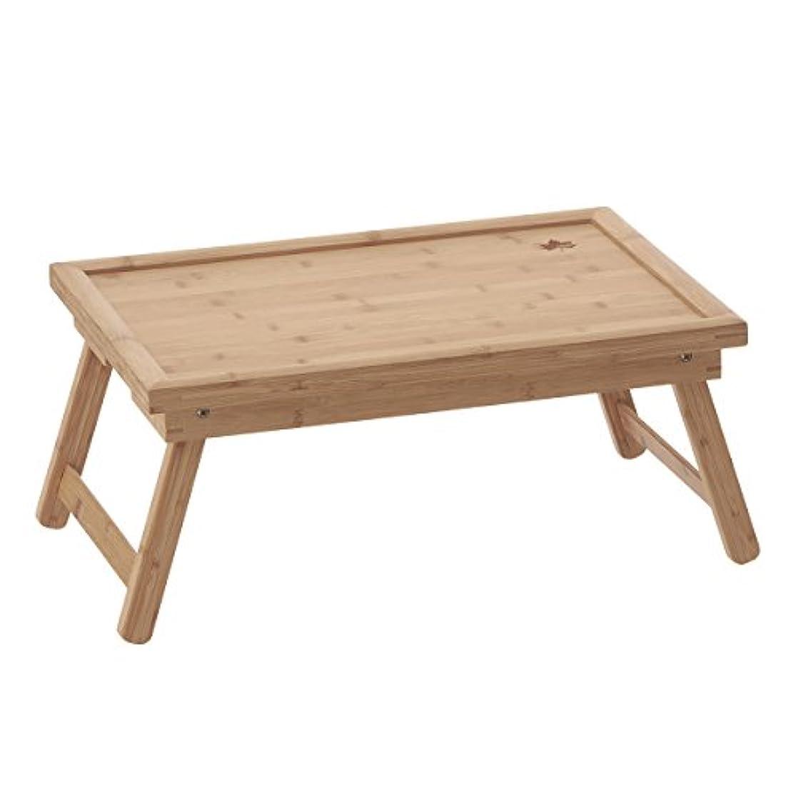 不振服を洗うイルロゴス  アウトドアテーブル Bamboo 膳 テーブル 5033 73180023