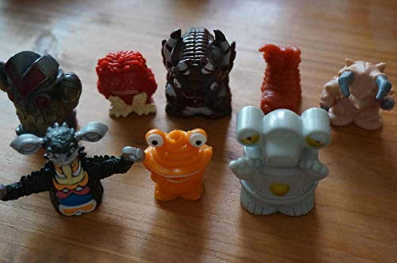 ウルトラマン 怪獣 指人形 いろいろ 8個