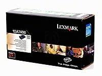 LEX12A7400 - Lexmark ブラックトナーカートリッジ