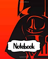 Notebook: College Ruled Notebook Star Wars Gifts Series Movies Soft Glossy The Last Jedi with Ruled Lined Paper for Taking Notes Writing Workbook for Teens and Children Students School Kids Inexpensive Gift For Boys and Girls